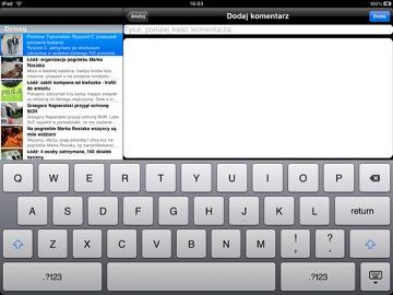 Dziennik Łódzki na iPada