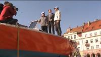 Bartłomiej Czarciński o swojej łódce