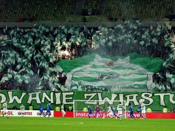 Kibice na meczu Lechia Gdańsk - Lech Poznań [ZDJĘCIA]