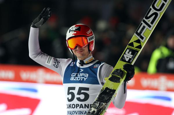 Kamil Stoch jest liderem klasyfikacji generalnej PŚ