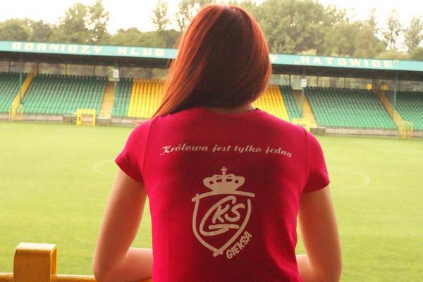 Fanki GKS Katowice z grupy Female Elite'64
