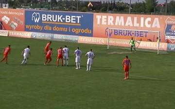 Skrót meczu Termalica Bruk-Bet Nieciecza - Wigry Suwałki 2:0 (WIDEO)