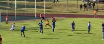 Kruoja - Jagiellonia Białystok 0:1 (BRAMKA)