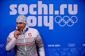 Ceremonia medalowa Zbigniewa Bródki