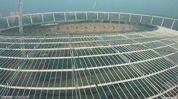 Stadion Śląski wreszcie ma dach. Trzy lata po Euro, a to jeszcze nie koniec budowy
