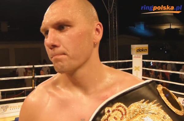 Krzysztof Głowacki po wygranej walce