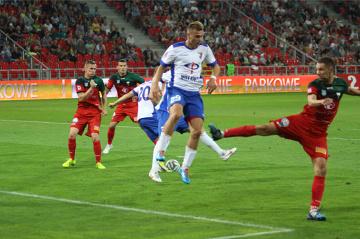 GKS Tychy nie potrafi strzelić gola na nowym stadionie. Na inaugurację sezonu przegrał z Wisłą Puławy