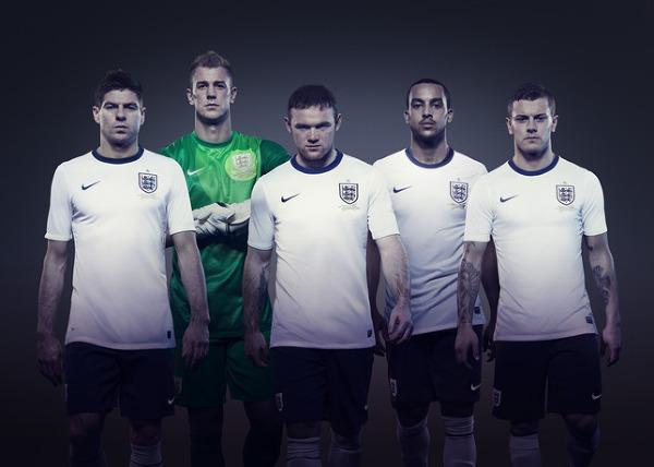 Nowe koszulki reprezentacji Anglii