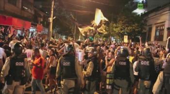 Zamieszki pod Maracaną, kibice Vasco da Gama uczcili tytuł starciami z policją (WIDEO)