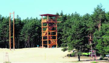 Na początku czerwca pierwsi turyści przetestują park