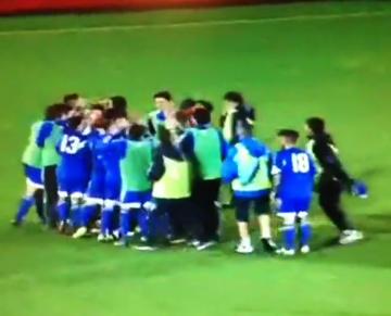 Po 61 porażkach w końcu zremisowali - radość piłkarzy San Marino po meczu z Estonią