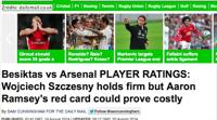 Brytyjska prasa pod wrażeniem gry Szczęsnego (WIDEO)