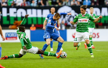 Oceniamy piłkarzy Lecha za mecz z Lechią: Burić i Gostomski wybronili trzy punkty