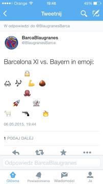 Skład Barcelony w formie... emotikonów (ZDJĘCIE)