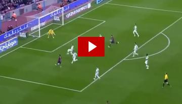 Pierwszy gol Luisa Suareza w lidze hiszpańskiej (WIDEO)