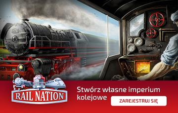 Rail Nation. Stwórz własne imperium kolejowe! [ZAGRAJ JUŻ TERAZ]