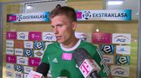 Piłkarze GKS-u Bełchatów: Sami sobie jesteśmy winni (WIDEO)