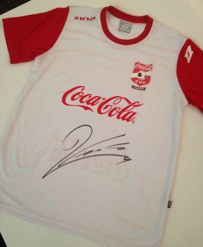 Konkurs Coca-Cola Cup. Wygraj koszulkę z autografem Roberta Lewandowskiego!