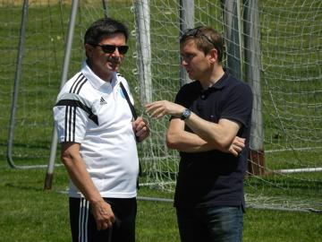 Trenerzy na meczu Ruch Chorzów - Rozwój Katowice 0:1 (GALERIA)