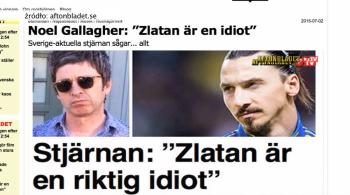"""""""Zlatan to pier...idiota i kawał g..."""". Znany muzyk naraził się kibicom Ibrahimovica (WIDEO)"""