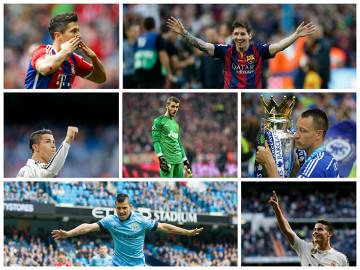 Wybieramy jedenastkę sezonu 2014/2015 w Europie! [GŁOSOWANIE]