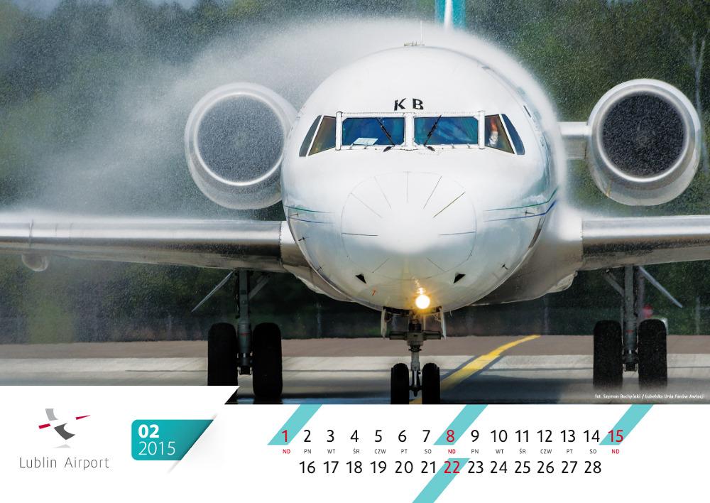 Samoloty na cały rok. Wygraj kalendarz Portu Lotniczego Lublin 2015