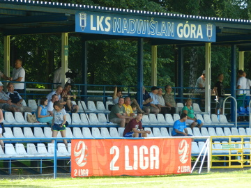Sparing: Kibice na meczu Nadwiślan Góra - GKS Tychy 1:0 (GALERIA)