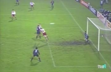 Atletico 20 lat temu - Simeone strzelał Widzewowi (WIDEO)