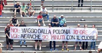 Polscy kibice skrytykowali Milan (ZDJĘCIE)