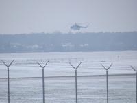 MI-8 przyleciał na świdnickie lotnisko