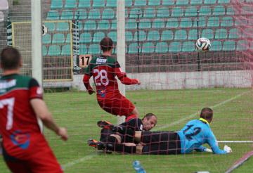 Skrót meczu GKS Tychy - Chrobry Głogów 1:1 (WIDEO)