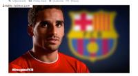 Douglas piłkarzem Barcelony. Kibice myśleli, że trafi do rezerw, a ma zastąpić Alvesa