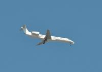 Przylot Embraera 145: Coraz więcej lotów biznesowych na lubelskie lotnisko (FOTO, WIDEO)