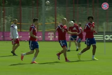 "Bayern ""Bucket"" Ball (WIDEO)"