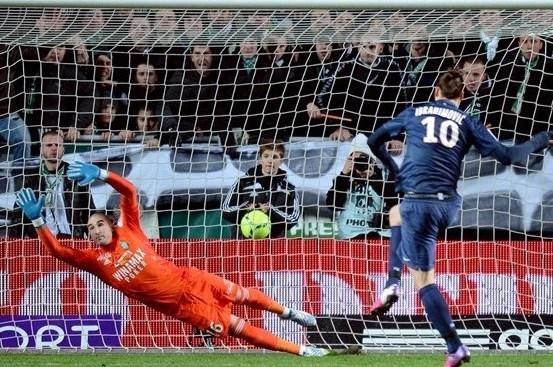 Zlatan Ibrahimović jest niemal bezbłędny przy strzelaniu rzutów karnych