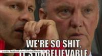 """Louis van Moyes przyczyną porażek United? Internauci drwią z """"Czerwonych Diabłów"""" (WIDEO)"""