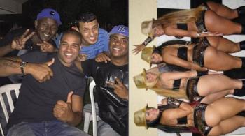 """""""Cesarz"""" Adriano wciąż w formie. Jednej nocy wydał na prostytutki 30 tysięcy euro (WIDEO)"""