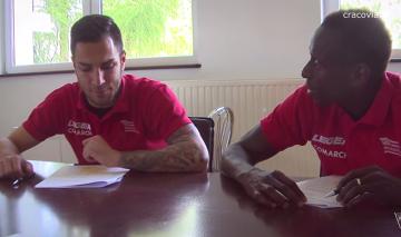 Armiche Ortega i Boubacar Diabang na lekcji języka polskiego (WIDEO)