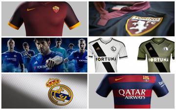 Najlepsze koszulki klubowe 2015/2016 (RANKING TOP10)