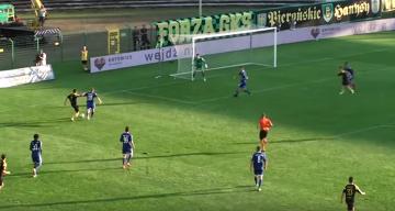 Skrót meczu GKS Katowice - Miedź Legnica 0:1 (WIDEO)