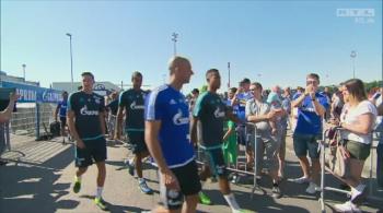 """Nowy trener Schalke zaprezentował się kibicom. """"Nasza gra musi zachwycać publiczność"""" (WIDEO)"""