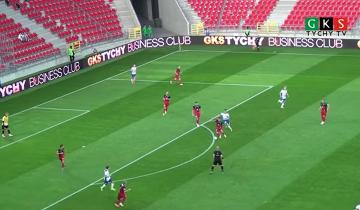 Skrót meczu GKS Tychy - Wisła Puławy 0:2 (WIDEO)