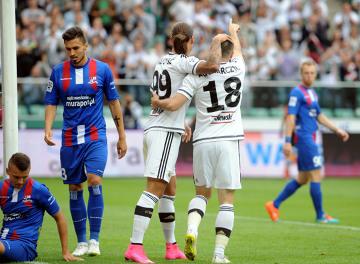 Legia wraca do formy. Podbeskidzie rozbite w Warszawie