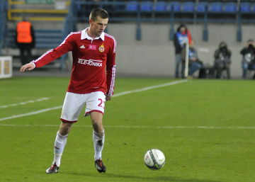 Łukasz Burliga po meczu z Jagiellonią: Tracimy punkty jak frajerzy