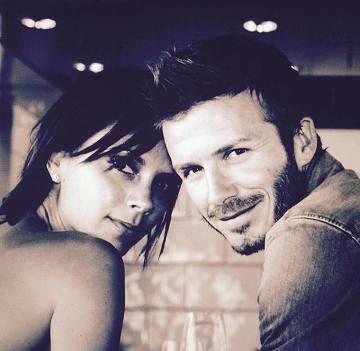 Beckham świętuje rocznicę ślubu