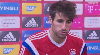 Piłkarze Bayernu o Lewandowskim: Nie uskarżał się na ból, zrobił nas nas dobre wrażenie (WIDEO)
