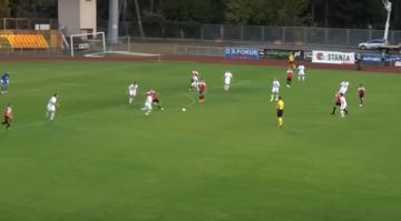 Skrót meczu Dolcan Ząbki - Rozwój Katowice 1:0 (WIDEO)