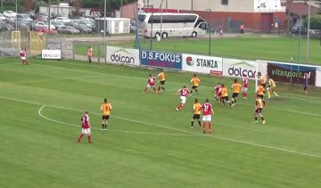 Skrót meczu Dolcan Ząbki - GKS Katowice 2:0 (WIDEO)