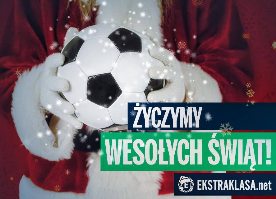 Wesołych Świąt - piłkarskie życzenia składa redakcja Ekstraklasa.net!