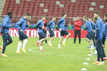 Lechici trenowali na Narodowym przed finałem Pucharu Polski (ZDJĘCIA)